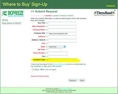 Biofreeze Where To Buy Online Locator Tool