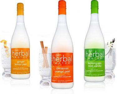 Sparkling Ayala's Herbal Water - Ginger Lemon Peel