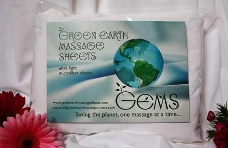 Green Earth Massage Sheets