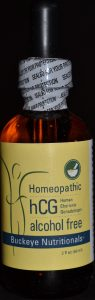 hCG Homeopathic Drops Alcohol Free