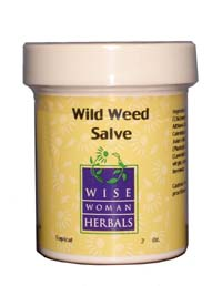 Wild Weed Salve Topical Application
