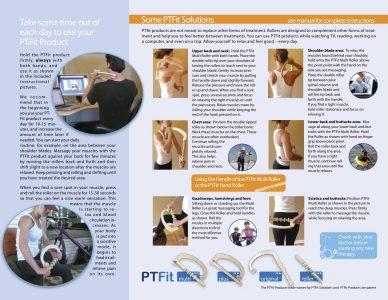 PTFIT Multi, Plus, Original and Hand Roller