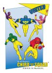 Chiro-Squad Superheroes Trading Cards