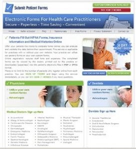 Submit Patient Forms