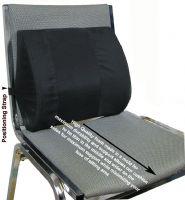 Seat Back Cushion w/ Elastic Strap