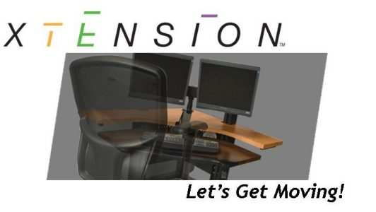 The XTensionDesk