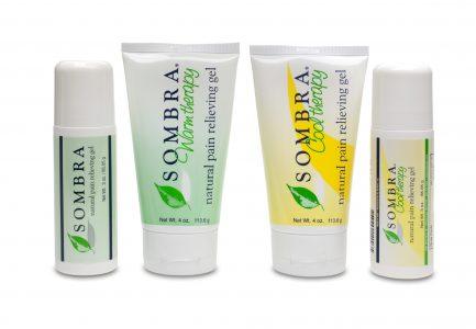 Sombra Natural Pain Relieving Gels 3 oz roll-on & 4 oz tubes