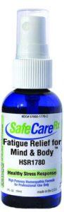 King Bio's SafeCareRX Fatigue Relief for Mind & Body