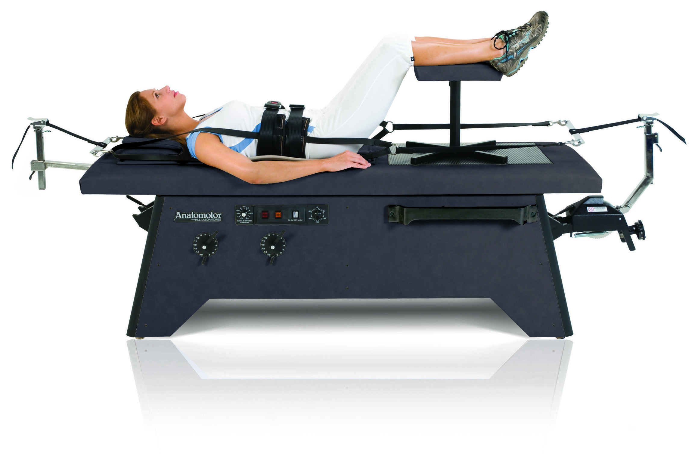 Hill Anatomotor Roller Massage Traction Table
