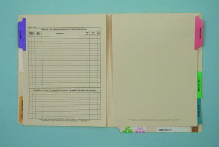 Chart Organizing Systems