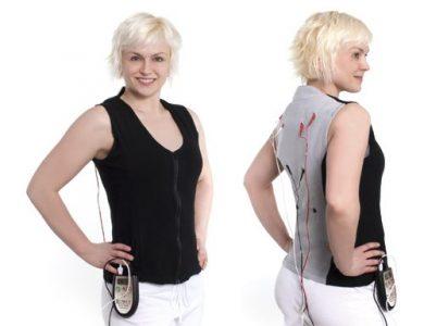 Conductive Garment Electrode Vest