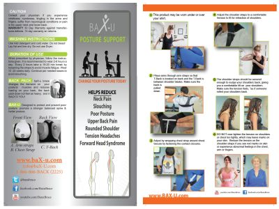 BAX-U Posture Support