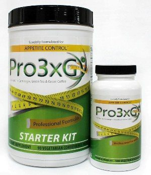 Pro3xG with Garcinia, Green Tea & Green Coffee