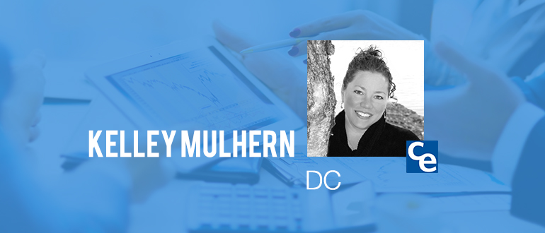 """Welcome to """"The Future Adjustment"""" podcast series on what's new and notable in the world of chiropractic. And our guest today is Kelley Mulhern, DC"""