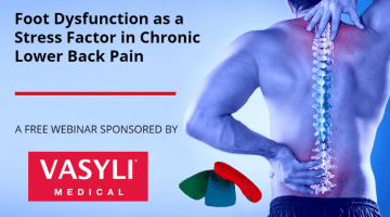 Foot Dysfunction as a Stress Factor in Chronic Lower Back Pain