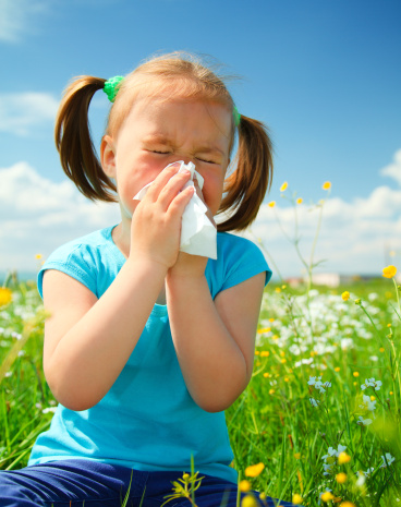 Allergies can be treated naturally with herbs.
