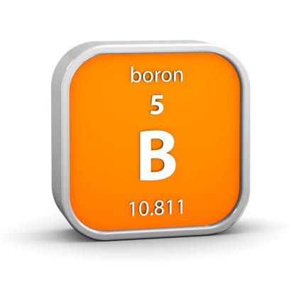 Boron helps the body.