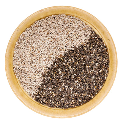 Chia seeds are great for nutrition.