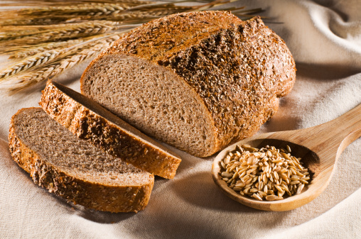 Whole grain wheat is high in magnesium.